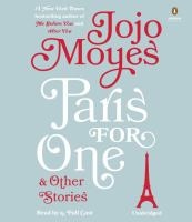 Cover image for Paris for one & other stories