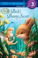 Cover image for Beck's bunny secret