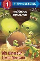 Cover image for Big dinosaur, little dinosaur