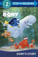 Cover image for Finding Dory. Dory's story