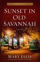 Cover image for Sunset in Old Savannah