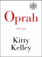 Cover image for Oprah : a biography