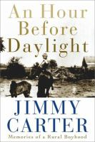 Cover image for An hour before daylight : memories of a rural boyhood