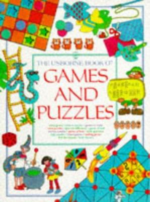 Cover image for The Usborne book of games and puzzles