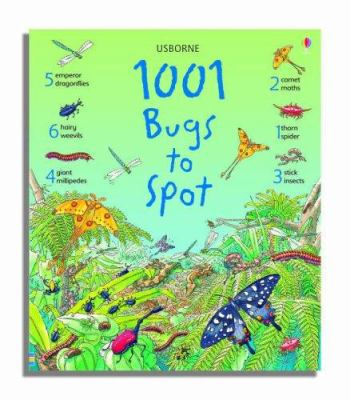Cover image for 1001 bugs to spot