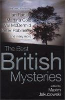 Cover image for The best British mysteries