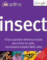 Cover image for DK online insect