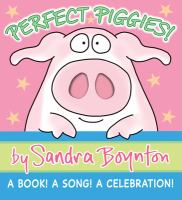 Cover image for Perfect piggies! : a book! a song! : a celebration!