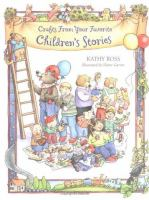 Cover image for Crafts from your favorite children's stories