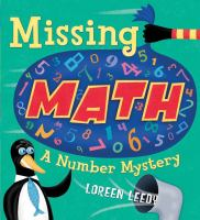 Cover image for Missing math : a number mystery