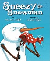 Cover image for Sneezy the snowman