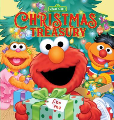 Cover image for 123 Sesame Street. Christmas treasury