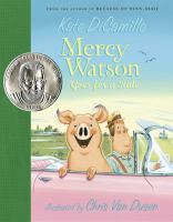 Cover image for Mercy Watson goes for a ride