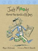 Cover image for Judy Moody. Around the world in 8 1/2 days