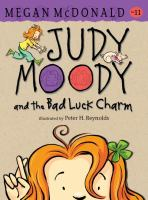 Cover image for Judy Moody and the bad luck charm