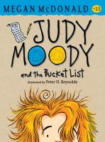Cover image for Judy Moody and the bucket list