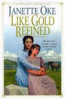 Cover image for Like gold refined