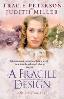 Cover image for A fragile design