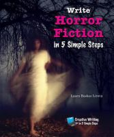 Cover image for Write horror fiction in 5 simple steps