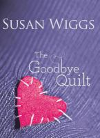 Cover image for The goodbye quilt