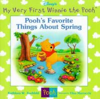 Cover image for Pooh's favorite things about spring