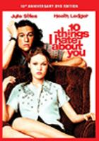 Cover image for 10 things I hate about you