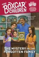 Cover image for The Boxcar Children. The mystery of the forgotten family