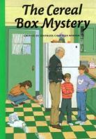 Cover image for The cereal box mystery