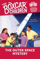Cover image for The outer space mystery
