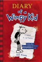 Cover image for Diary of a wimpy kid. Greg Heffley's journal