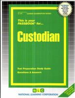 Cover image for Custodian