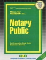 Cover image for Notary Public