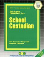 Cover image for School custodian