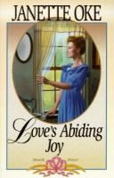 Cover image for Love's abiding joy
