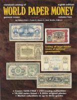 Cover image for Standard catalog of world paper money
