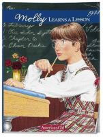 Cover image for Molly learns a lesson : a school story