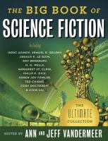 Cover image for The big book of science fiction : the ultimate collection