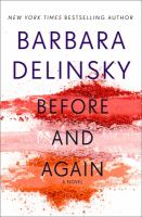Cover image for Before and again