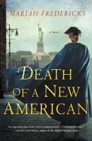 Cover image for Death of a New American