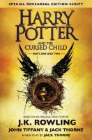 Cover image for Harry Potter and the cursed child. Parts one and two