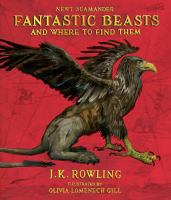 Cover image for Fantastic beasts & where to find them