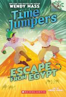 Cover image for Time jumpers. Escape from Egypt