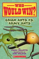 Cover image for Green ants vs. army ants