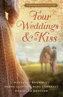 Cover image for Four weddings and a kiss : a Western bride collection