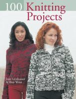 Cover image for 100 knitting projects