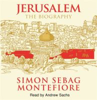Cover image for Jerusalem, the biography
