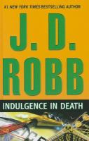 Cover image for Indulgence in death