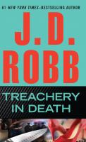 Cover image for Treachery in death