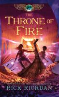 Cover image for The throne of fire