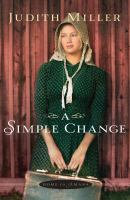 Cover image for A simple change